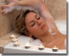 The Just Aromatherapy range of silky, sensual bath Products. You'll find Wonderful Bath Foams, natural soap, Bath Oils including, aromatherapy bath oils, relaxing bubble bath, essential oil soap, natural hand made soap and many other products