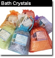 Bath crystals salts