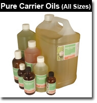 Professional quality pure Carrier Oils and Base products for all your home-blending needs