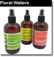floral water, aromatherapy essential oils, floral waters are made from the steam produced during the creation of essentials oils. we stock fresh, quality floral waters, made from aromatherapy essential oils