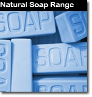 A range of high quality, long-lasting traditionally made Soaps using only Plant Products. No chemical products are used in the manufacture of these soaps, nor any animal products. Containing only Natural palm oils, Coconut oil and Pure Essential Oils, they have a great natural aroma.