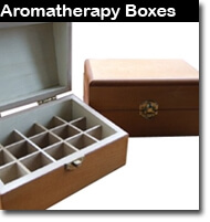 a full range of top quality aromatherapy essential oil storage boxes. you will find our quality high and our prices high.