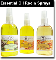 Essential oil room sprays.