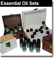 We have put together a number of aromatherapy essential oil gift ideas, and special sets offering great value-for-money, with substantial savings on list prices. There are three different sets of ten Pure Essential Oils, three different sets of 20 Pure Essential Oils and one set of thirty Pure Essential Oils
