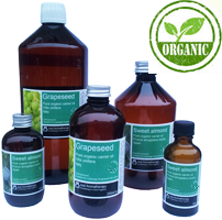 organic grapeseed, sweet almond carrier oils