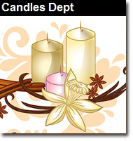 Candles Dept