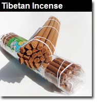 Tibetan Incense Sticks, Holders