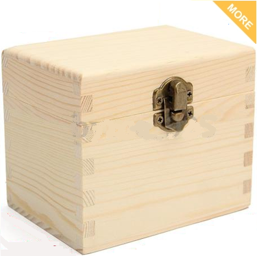 6 Slot Natural Wood Essential Oil Aromatherapy Storage Box Case